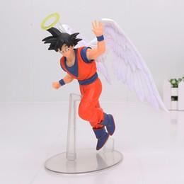 Angels Figures Australia - 17cm Dragon ball Z Dragonball angel Son Goku Action figure toys doll collection Christmas gift