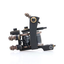 $enCountryForm.capitalKeyWord UK - Black New Type Hot Sale Tattoo Gun Professional Tattoo Machine for Liner High Quality Tattoo Supply TM462
