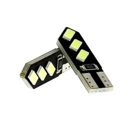 $enCountryForm.capitalKeyWord Canada - 50x T10 W5W Wedge 6 SMD 5730 LED White CANbus Car Map Turn Signal light Side Marker lights Bulb Dashboard Light Reading Map Lamp Bulb DC-12V