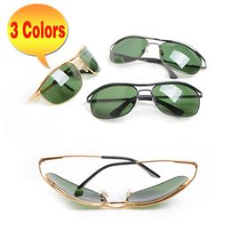 8c4aea7572a New metal Frame Sunglasses for 8012 Mens Sunglasses Glass Lens glasses  womens Sunglasses Outdoor sports Sun glasses 8012