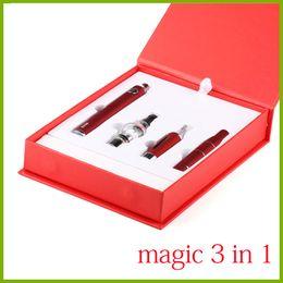 Evod mt3 ElEctronic cigarEttE online shopping - Magic in Electronic Cigarette with Wax vaporizer Ago g5 MT3 Glass Globle EVOD dry herb vaporizer pen e cigarette starter kit