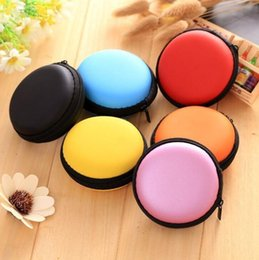 Multi Color Hand Bag Australia - Round EVA Cases Fidget Spinner Boxes Waterproof Candy Color Multi Function Container Case For Hand Spinner Bags Portable