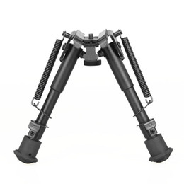 Auto Shoot Canada - Tactical 6-9 Inch Bipod Auto Eject Metal Bipod Designed for Real Fire Caliber for Shooting CL17-0032