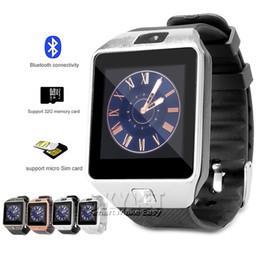 DZ09 смарт-часы Dz09 Часы Браслет Android часы Smart SIM интеллектуальный мобильный телефон сна государства смарт-часы Розничный пакет