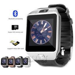 DZ09 Smart Watch Dz09 Часы Наручные часы для Android Smart SIM Интеллектуальный мобильный телефон Sleep State Smart watch Розничный пакет