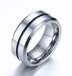 jewelry china usa 2019 - Wedding Ring Tungsten Carbide Rings for Men 8mm Width Top Quality Male Wedding Jewelry Hot Sales USA