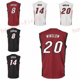 bea38c474 ... High 8 Tyler Johnson 20 Justise Winslow Jersey Men 14 Gerald Green Shirt  Uniform Rev 30 .