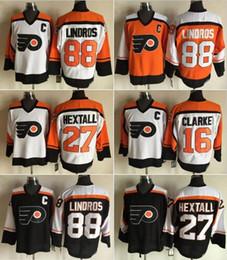 ... stitched nhl jersey 17323 c378c  inexpensive 2017 philadelphia flyers  throwback hockey jerseys ice 16 bobby clarke 88 eric lindros 27 ron c03b32e90