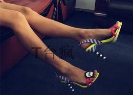 $enCountryForm.capitalKeyWord Canada - 2017 women sandals flower open toe pump high heels stiletto cut out summer gladiator ladies women sandal sex brand shoes back strap