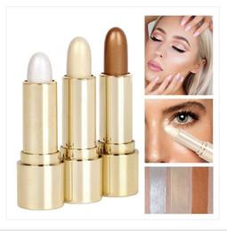 Skin Lipstick Canada - Ms HANDAIYAN makeup tools concealer pens hidden flaws cream concealer lipstick 4.5 g# H004