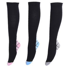 2008d9c17c 2018 Hot Sale Mens women Compression Socks Foot Pain Relief Soft Anti  Fatigue Magic Socks Support Knee High Stockings free shipping