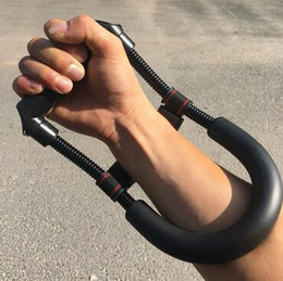 Force tool online shopping - New Arrival Steel Spring Adjustable Power Wrist Arm Device Forearm Force Flexor Strength Hand Grips Gripper Training Tool CCA6617
