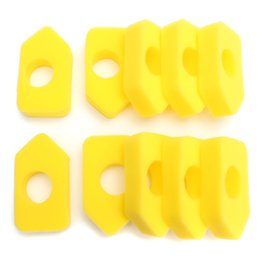10x Foam Air Filter For Briggs & Stratton 698369 4216 5088 5099 MTD 490-200-0011 on Sale