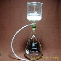 Vente en gros Vente en gros- 5000ml, 24/40, kit de filtre d'aspiration de vide de verre de laboratoire, 2L Buchner Entonnoir 5 L Flask