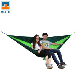 wholesale  newly aotu at6737 camping 2 person parachute nylon fabric hammocks 18 x 18 x 10 cm for backpackingcampingcasualhikingtravel parachute fabric for hammocks nz   buy new parachute fabric for      rh   nz dhgate
