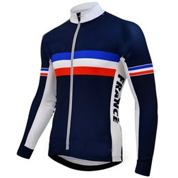 Bike clothing for women online shopping - France men s cycling jerseys Pro team long sleeve quick dry bike clothing MTB Ropa Ciclismo Polyester cycling clothing For Mans J2301