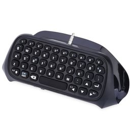 Playstation Wireless Controller Canada - Hot Sale Fantastic Wireless Bluetooth Keyboard Chatpad For PS4 PlayStation 4 Controller High Quality