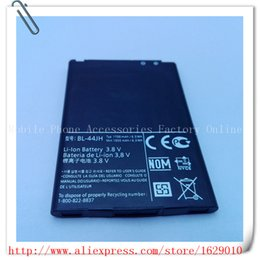 Discount lg li ion batteries - Wholesale- BL-44JH 1700mAh Replacement Li-ion Polymer Battery Batery For LG Optimus L7 P700 P750 p705 MS770 Bateria BL 4