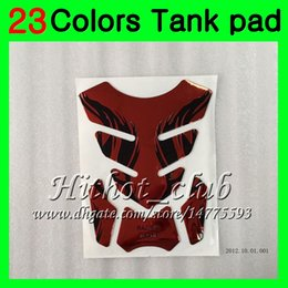 Discount honda cbr gas cap - 23Colors 3D Carbon Fiber Gas Tank Pad Protector For HONDA CBR250RR 90 91 92 93 94 MC22 CBR 250RR 1990 1991 1992 93 1994