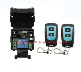 $enCountryForm.capitalKeyWord Canada - Wholesale-DC 12 v mini wireless remote control switch 1channal Intelligent family system 1X receiver+2X waterproof transmitter JRL-022