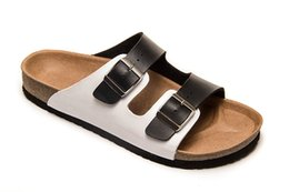 $enCountryForm.capitalKeyWord Canada - Designer Cork Slippers Sandals man and woman Summer Mixed Color Casual Beach Slides Flip Flops Buckle Clogs Mules Sandalias