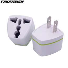 Discount electrical adapters - Fanaticism High Quality CE ROHS Universal UK AU EU To US Plug Adapter Converter USA Travel AC Power Electrical Plug Adap