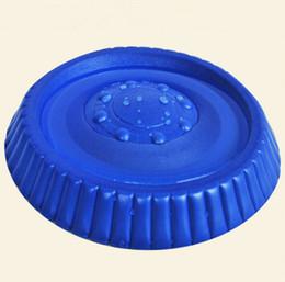 Vente en gros Flottant Dans L'eau Bonne Qualité EVA Chien Formation Fetch Jouet Léger Frisbee Volant Disque Silicone Facile À Porter L Taille Min Ordre 10 PCS