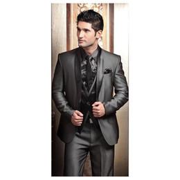 Modern wedding tuxedo for groom australia new featured modern 2017 wedding tuxedos for men modern best man suit grey formal suit groom tuxedo mens suit jacketpantstievest junglespirit Images