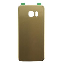 wholesale housing 2019 - Original Glass Battery Housing Door Cover For Samsung Galaxy S7 G930 G930A G930V Double Words discount wholesale housing
