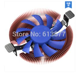 Am3 Fan NZ - Wholesale- Ultra-thin 28mm height for 1U 2U HTPC, 8cm fan, Ultra-Slient, Intel LGA775 1150, AMD 940 AM3 FM1 FM2 CPU cooler, PcCooler E86