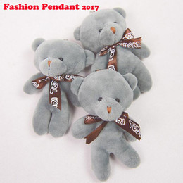 $enCountryForm.capitalKeyWord Canada - 12CM Q Mini Teddy Bear Plush Stuffed Toy Doll Pendant Bag Accessory Wedding Gifts Keychain Plush Stuffed Toys For Children Kids dhl shipping