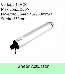 Speed S NZ - high speed linear actuator 12VDC 350MM  14inch stroke 100N 100mm s IP 54 low noise linear motor