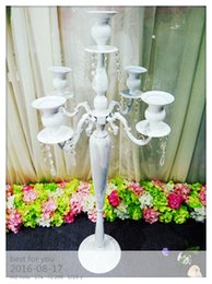 $enCountryForm.capitalKeyWord Canada - new style metal candle wedding pillar  wedding walkway flower stand wedding floor centerpices for wedding decoration events
