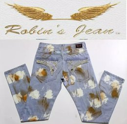 $enCountryForm.capitalKeyWord Canada - Straight in Jeans cowboy high fashion designer brand mens american flag jeans with wings white blue biker jeans