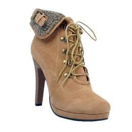 c33edcfafdd5 Discount camel toe women - Kolnoo Womens Fashion Handmade 12cm High Heel  Large Size Cross Lace