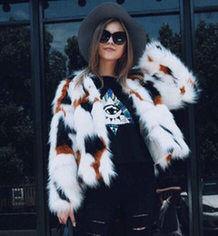 White Faux Fur Shorts Australia - 2017 Winter new Women Short Imitation Fur Jackets Fashion Slim Faux Fur Coat Plus Size 3XL Long Sleeve Warm Outerwear