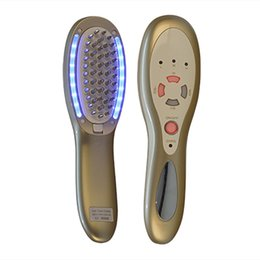 Hair growtH massager online shopping - HM Portable in1 Laser LED Light Therapy Micro Current Stimulation Hair Regrowth Massager Growth Comb Remove Scurf Repair Hair