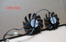 75mm 12v fan Canada - Computer Cooler Fan 75MM FirstD FD7010H12S Power   Logic PLD08010S12HH DC 12V 4 Wire For ASUS MSI R6790 Twin Frozr II Video Card