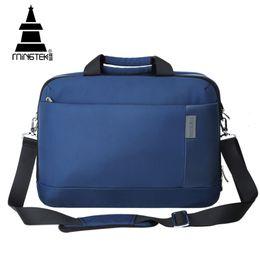 China Wholesale- 14 15.6 Inch Business Laptop Case Bag Travel Waterproof Nylon Tote Handbag Notebook Unisex Shoulder Crossbody Bag Briefcase supplier travel laptop cases suppliers