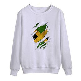 New Jamaica 2018 autumn this is me printed Men O Neck T Shirt Casual long Sleeve Slim Fit