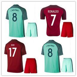 best quality 2016 portugal soccer jersey kits 2016 2017 ronaldo nani quaresma pepe guerreiro euro cup .