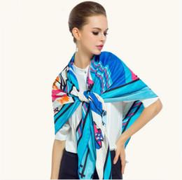 $enCountryForm.capitalKeyWord Australia - Luxury Scarves & Wraps for Women 2017 Brand Foulard Femme Long Shawl Polyester Silk Pashmina Ponchos and Capes Winter Soft Scarf 130cm Brand