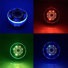 Discount mood led light Shower Radios Speaker IPX7 Portable Fully Waterproof Mini Bluetooth Speaker With Built in FM Radio and LED illumination