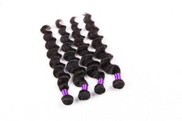 China Popular Style 8A-Remy Hair!!!! Brazilian Hair Weave loose Deep Wave Hair Double Weft Fres Shedding Free Tangle Durable 3 pcs  lot suppliers