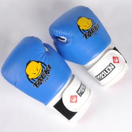 SportS Sandbag online shopping - Fitness Supplies Pair Kids MMA Boxing Gloves Children Kickboxing Kick Box Training Punching Sandbag Sports Fighting Golves Protective Gear