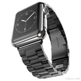 2018 apple watch 38mm classic luxury Stainless Steel Strap Classic Buckle Adapter Link Bracelet Watch Band 42mm 38mm for Apple Watch iwatch series 1 2