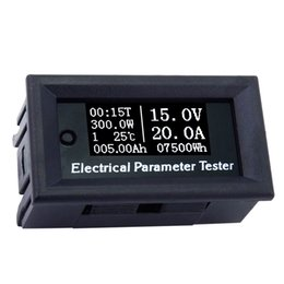Measurement & Analysis Instruments 4in1 Dc 50a Digital Lcd Power Meter Monitor Electric Power Energy Meter Wattmeter Voltmeter Ammeter 12v 24v 50a 75mv Shunt Current Meters