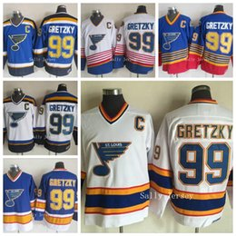 837083a7 ... Winter Classic St. Louis Blues 99 Wayne Gretzky Ice Hockey Jersey White  Blue Home Stitched ...