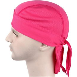 Sweat Absorbing Riding Headbands Cycling Outdoor Sports Bicycle Hat Cap  Quick Drying Breathable Sun Protection Headcloth Polyester Fibre Hat 22bd60fbc99