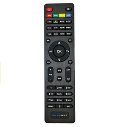 China Wholesale- Free Sat Digital Satellite Receiver Remote Control For DVB-S2 Freesat V7 HD Freesat V7 MAX Freesat V7 COMBO Terrestrial ASTC cheap satellite receiver remote control suppliers